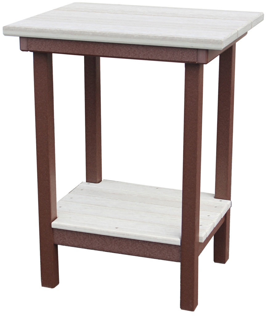 "Creekside 28"" High End Table - Pumpkin Patch Market"