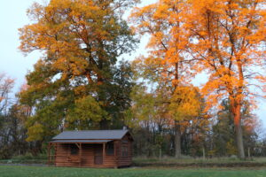Amish Storage Shed Log Cabin